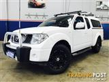 2013  NISSAN NAVARA ST-X (4x4) D40 MY13 KING CAB P/UP