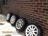Holden HSV BSA 17Inch wheels