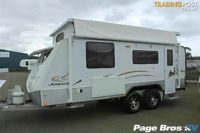 2009  JAYCO STERLING OUTBACK  17.55-3.OB POP TOP