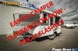 2011  JAYCO DOVE  11CP CAMPER TRAILER