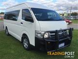 2012  TOYOTA HIACE COMMUTER KDH223R MY12 UPGRADE BUS