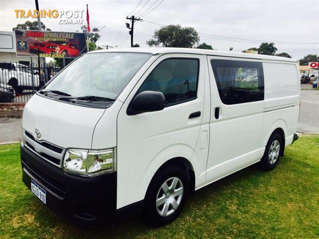 2010 toyota hiace lwb kdh201r my07 upgrade 4d van for sale in rh tradingpost com au Suzuki Carry Van Manual 2016 Toyota Hiace Van