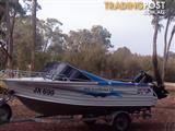 2002 Quintrex 4.55 Coast Runner Boat