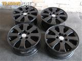 Holden Statesman WK Mag Wheel 16x7 BLACK