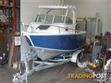 Alloy Plate Boat 6.25m NEW+ New Galv Trailer