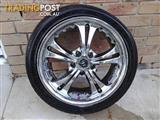 Chrome Mag Wheels