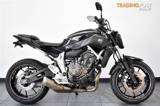 Yamaha mt 07la
