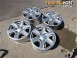 "Set of 4 Ford Ranger 17"" Factory Alloy Rims 6 stud pattern !!!"