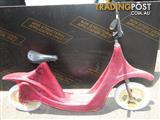 Vintage Retro Fiberglass Scooter