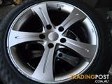 "Set Of 4 5x120 17""Mercedes AMG Alloy Rims with Tyres !!!"