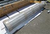 2550(w) x 2100(h) Colorbond Shale Grey Roller Door