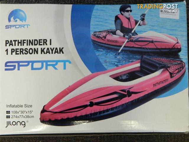 New-Path-Finder-1-person-inflatable-Kayak-with-paddle-and