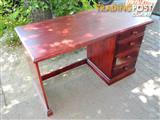 Lovely Solid Wood Study / Office Desk with Drawers