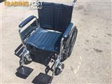 Wheelchair extra wide seat 220kg fold up self propelled like new