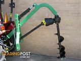 Tractor Hydraulic Posthole Digger With Auger
