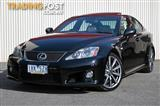 2010 LEXUS IS F  USE20R SEDAN