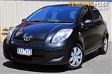 2010 TOYOTA YARIS YRS NCP91R HATCHBACK