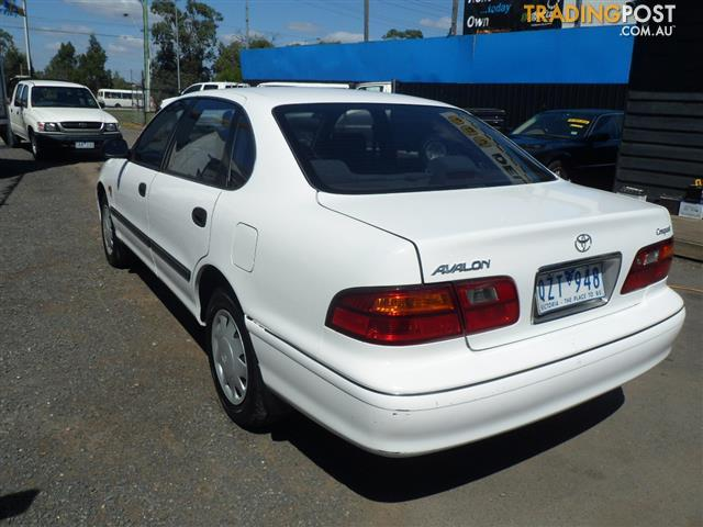 2001 toyota avalon conquest mcx10r sedan for sale in bayswater north vic 2001 toyota avalon. Black Bedroom Furniture Sets. Home Design Ideas