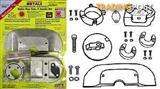 MERCRUISER ANODE KIT ALPHA GENERATION 2 WITH RED SPOT INDICATOR & S/S HARDWARE
