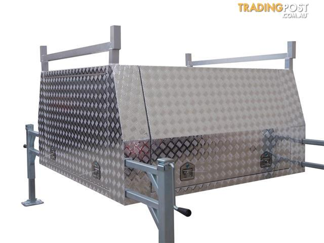 Aluminium Ute Canopies With Jack Off Capability Variety