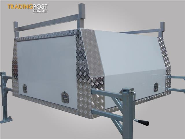 Aluminium Ute Canopies With Jack Off Capability. Variety Of Sizes Available : lift off canopies - memphite.com