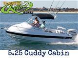 Revival Boats 5.25 Cuddy Cabin & Suzuki Four Stroke