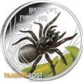 Funnel Web Spider from the Perth Mint Deadly and Dangerous series
