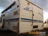 2002 JAYCO SPORTSTER SLIDE ON CAMPER EXCELLENT ESCAPE FOR THE WEEKEND FISHING!!