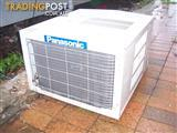 national panosonic   window type air conditioner 2. 3/4  h. power. reverse  cycle