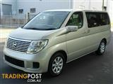 2004 Nissan Elgrand Series 2 E51 Wagon