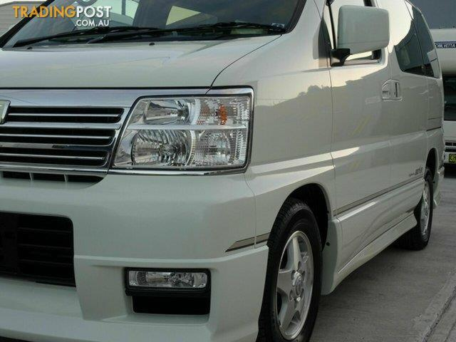 2000 Nissan Elgrand Highway Star E50 Wagon