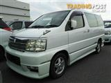 2001 Nissan Elgrand Highway Star E50 Wagon