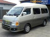 2011 Nissan Caravan 9 seater 25 Series Wagon