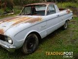 FORD FALCON XL 1962 UTE ... barn find Sunbury Vic