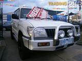 2000 TOYOTA LANDCRUISER RV (4x4) HZJ105R 4D WAGON