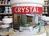 MEMBRANE ACRYLIC WATER PROOFING WHITE 10LT AUSTRALIAN MADE