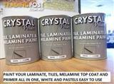 TILE LAMIANTE MELAMINE PAINT 1000 X 1 LITRE TINS WHITE
