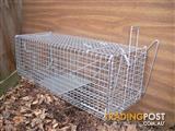 Animal Wire Cage Trap Cat/Possum /Rabbit/Fox