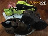 Boys Indoor Soccer Boots & Snow Shoes
