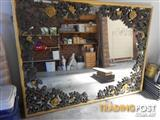 Big decorative mirror