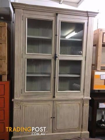 On Sale New Display Cabinets Solid Timber Glass Windows Classic