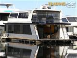 """Houseboat Holiday Home on Lake Eildon Vic """"Suits Me"""""""