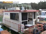 "Houseboat Holiday Home on Lake Eildon Vic ""Got A Life"""