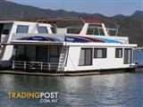 "Houseboat Holiday Home on Lake Eildon Vic ""Vindicator"""