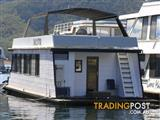 "Houseboat Holiday Home on Lake Eildon Vic ""Xcite"""