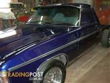 HZ 1978 HOLDEN PREMIER V8 ONE TONNER UTE AUTO  UNFINISHED PROJECT