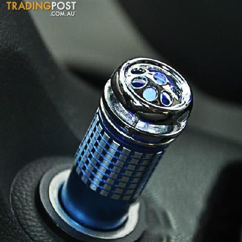 Car Air Purifier Mini Ozone Cleaner Ionizer Oxygen Fresh