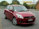 2013 Suzuki Swift GLX FZ MY13 Hatchback