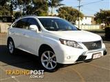 2009 Lexus RX350 Sports Luxury GGL15R Wagon