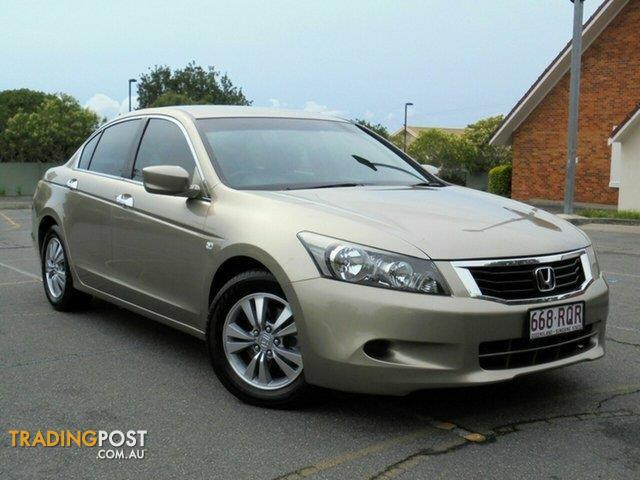2010 honda accord vti 8th gen my10 sedan for sale in chermside qld 2010 honda accord vti 8th. Black Bedroom Furniture Sets. Home Design Ideas